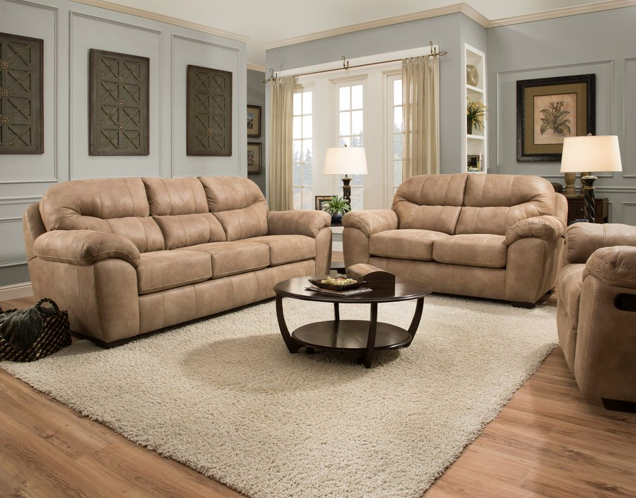 Catnapper Grant Sofa and Loveseat
