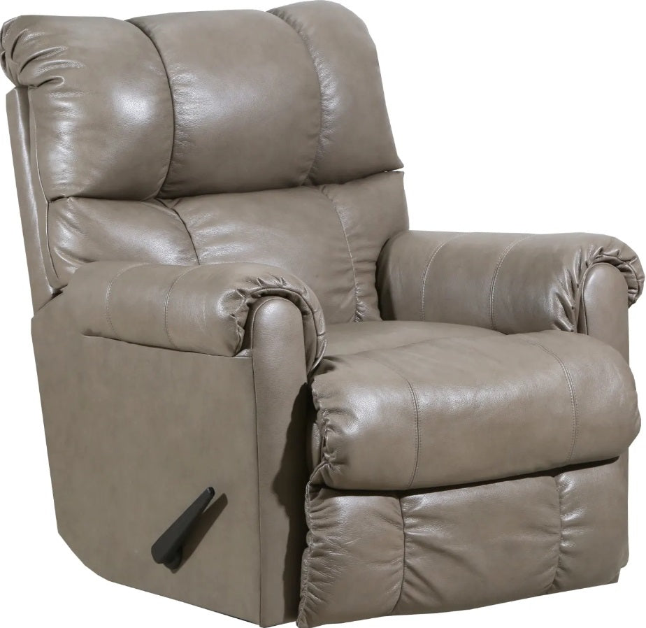 Lane Leather Soft Touch Taupe Recliner