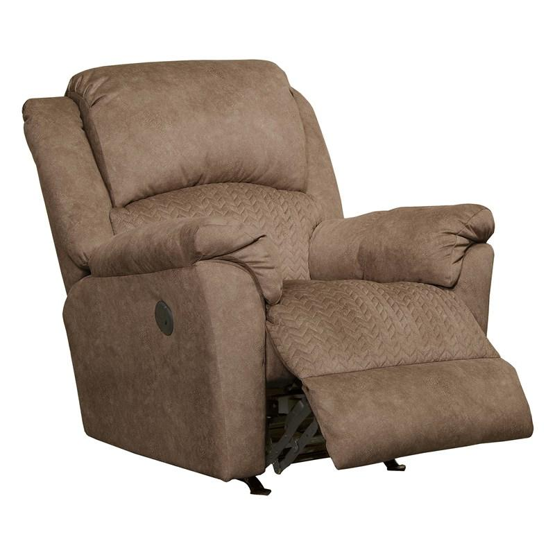 Tan USB Power Rocker Recliner