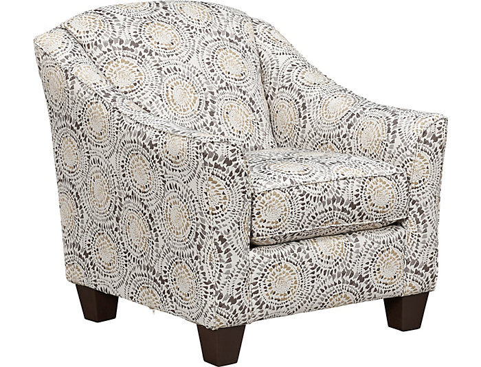 Mosaic Antique Accent Chair