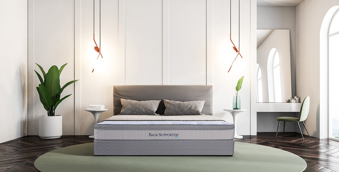 Spring Air Queen Firm Back Support Mattress Set