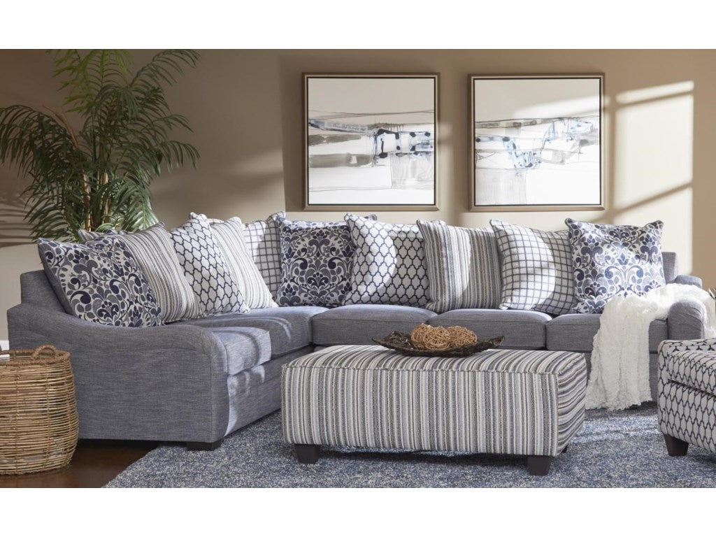 Tangier Navy Sectional