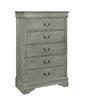 Gray King Sleigh Bedroom Set