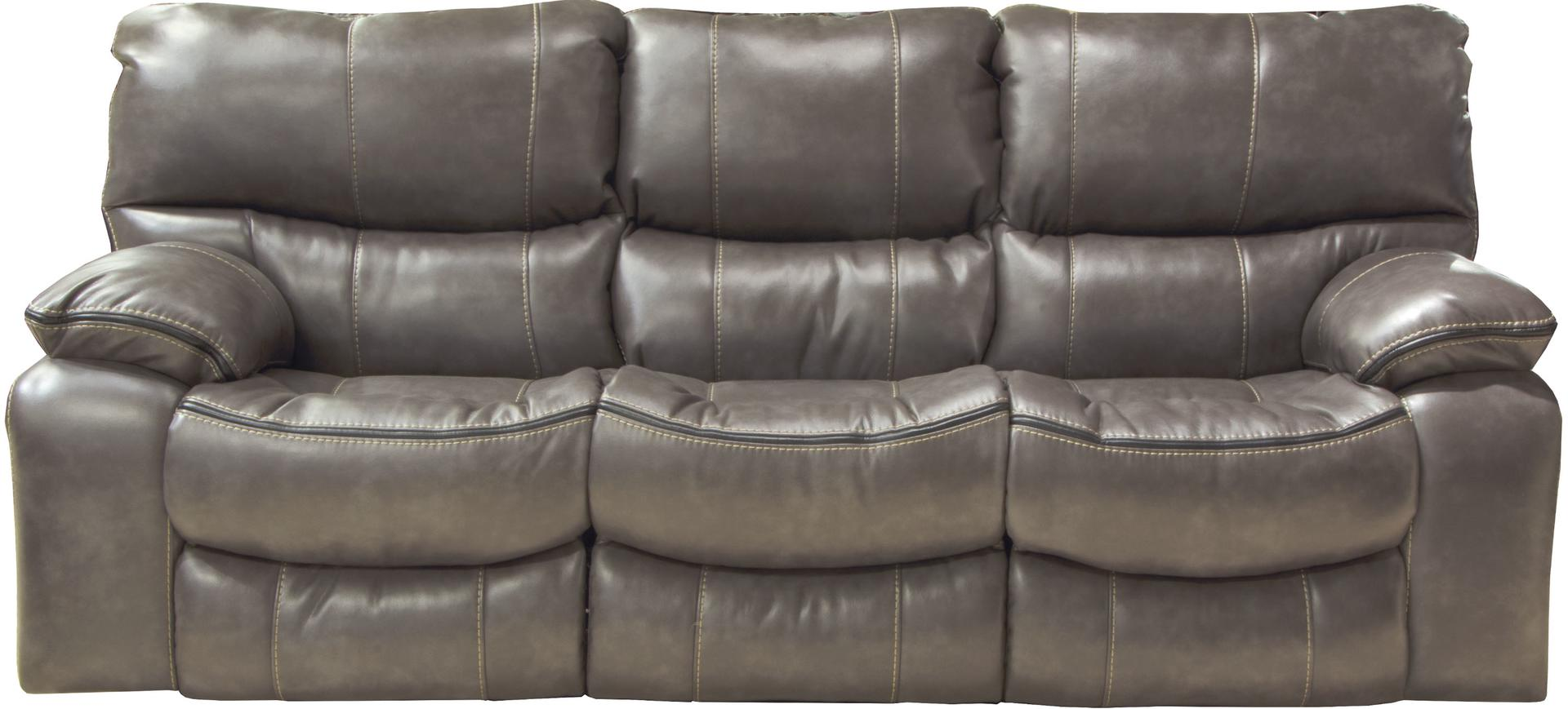 Catnapper Camden Gray Reclining Sofa And Loveseat My