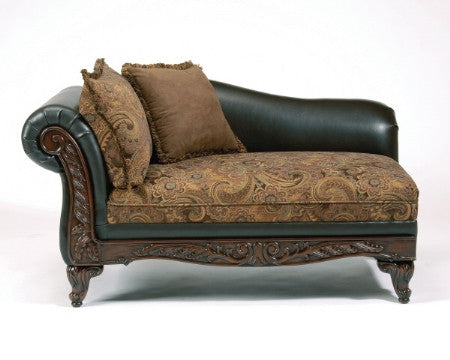 Serta Upholstery Silas Raisin Chaise My Furniture Place