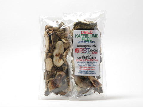 Dried Kaffir Lime Peel Rind