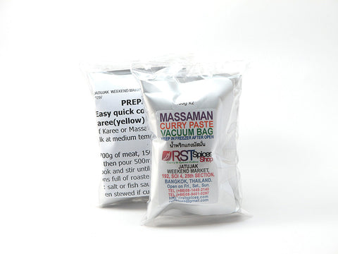 Massaman Curry Paste In Vacuum Bag