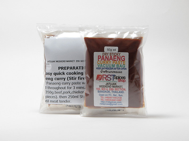 Penang Curry Paste In Vacuum Bag