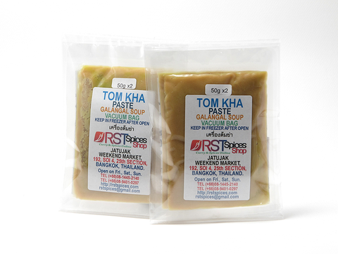 Tom Kha Paste In Vacuum Bag