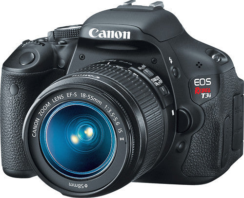 Canon - EOS Rebel T3i 18.0-Megapixel DSLR Camera