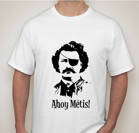 Louis Riel Pun T-shirt