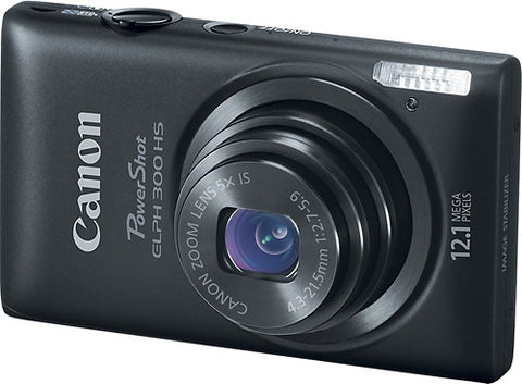 Canon - PowerShot ELPH 300 HS 12.1-Megapixel Digital Camera