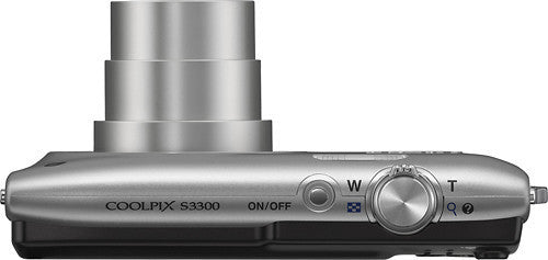 Nikon - Coolpix S3300 16.0-Megapixel Digital Camera