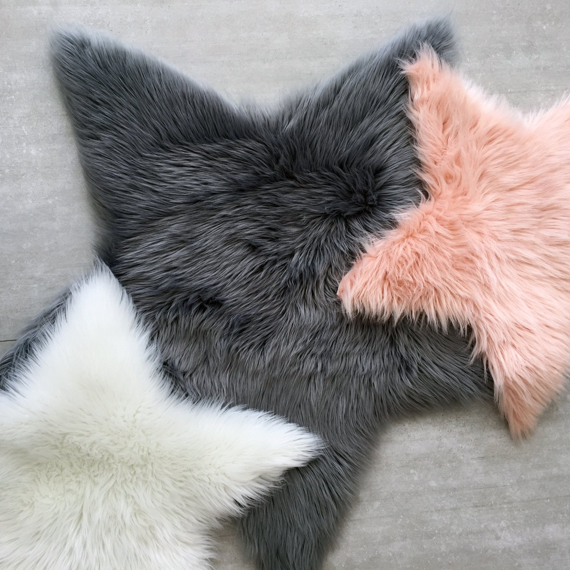 FAUX SHEEPSKIN COLLECTION