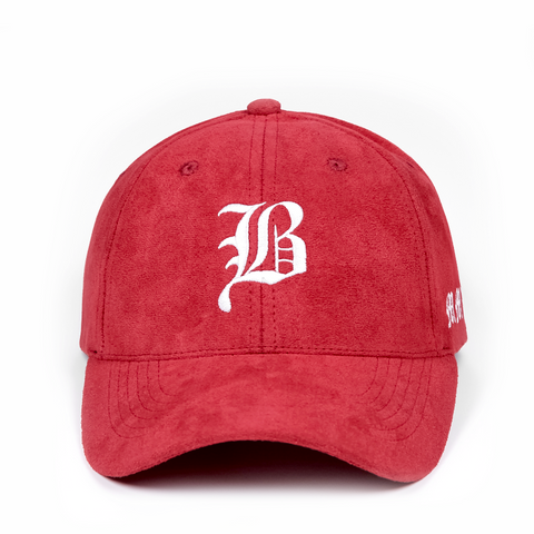 Olde English Suede Curved Cap