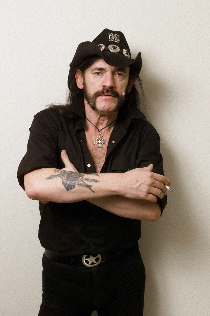 Detail of Lemmy, October 2002 by Tim Anderson