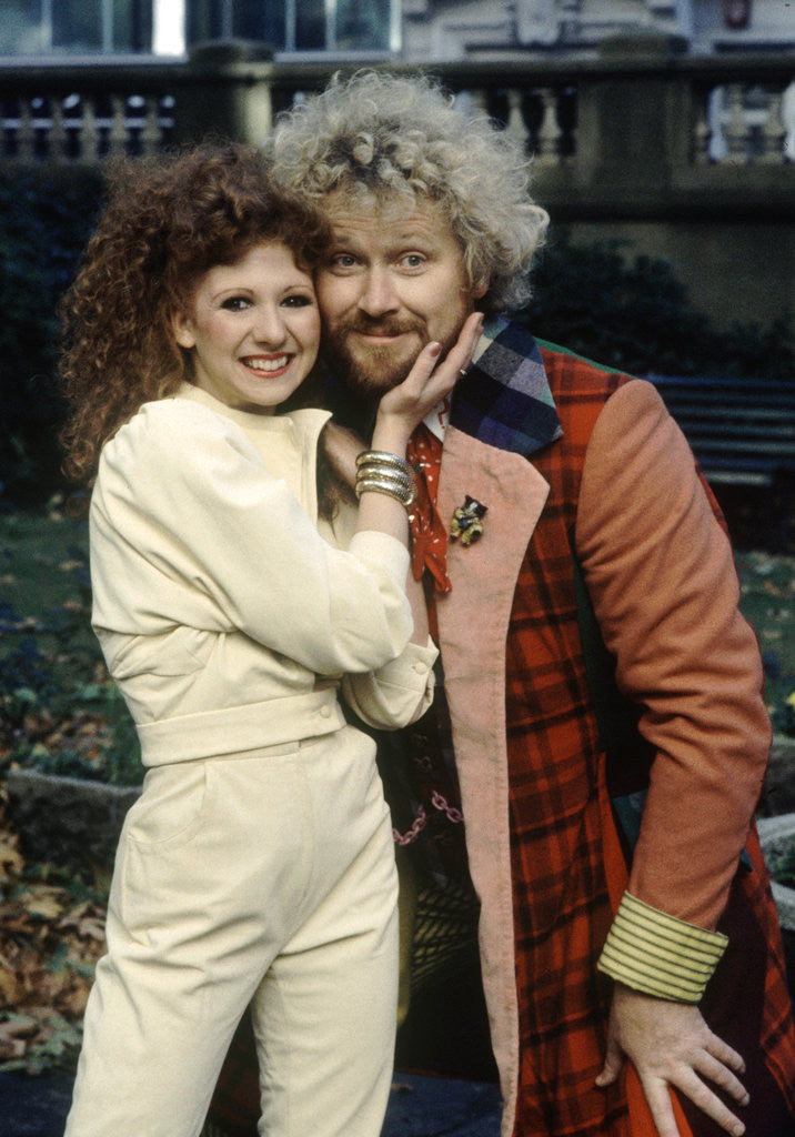 Detail of Colin Baker with Bonnie Langford by Anonymous