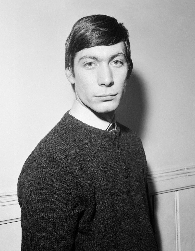 Detail of Charlie Watts by Anonymous