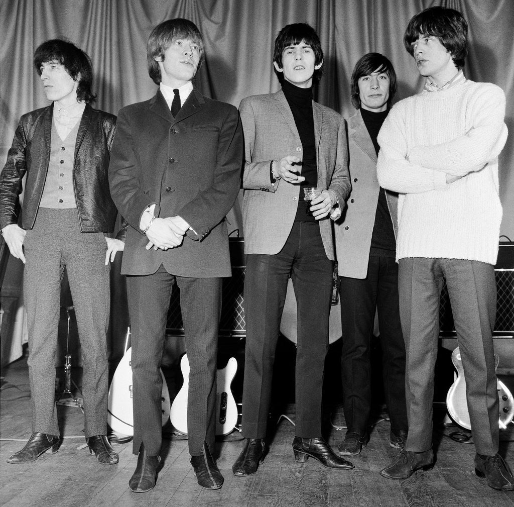Detail of The Rolling Stones by Anonymous