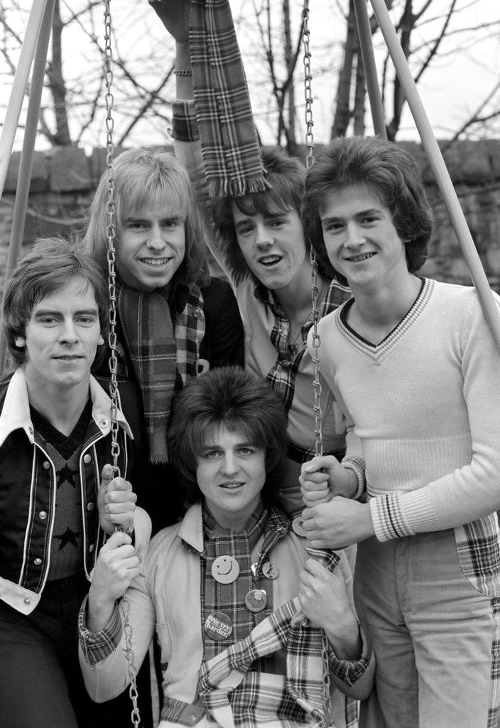 Detail of Bay City Rollers by Anonymous