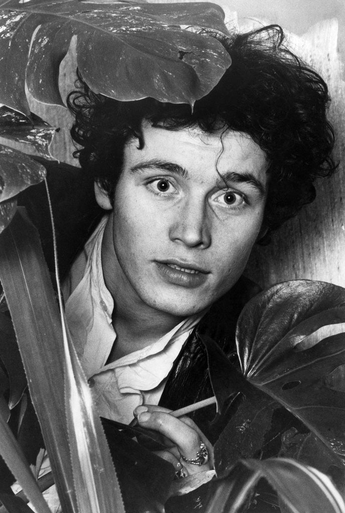 Detail of Adam Ant by Anonymous