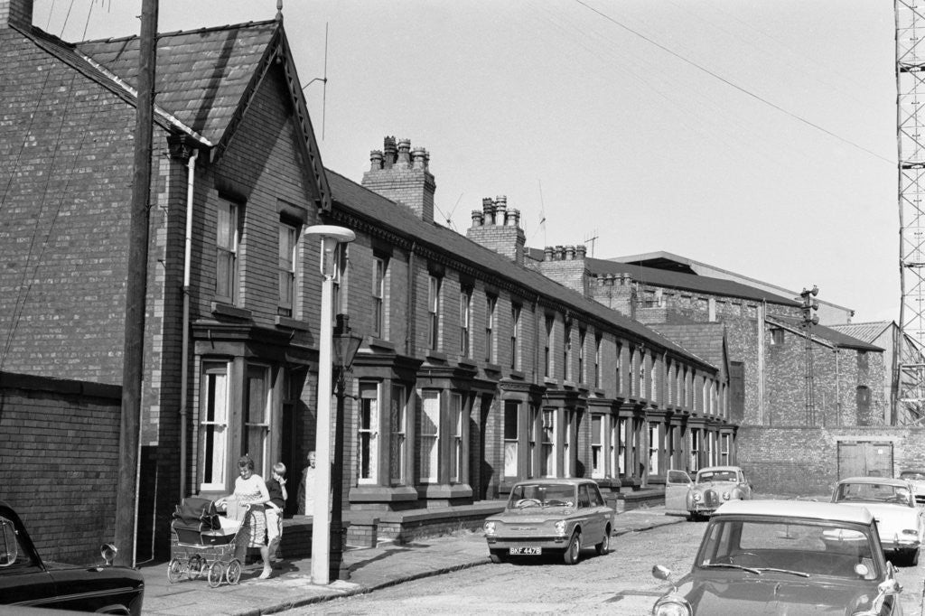 Detail of Houses to be demolished in Goodison Avenue by Charlie Owens