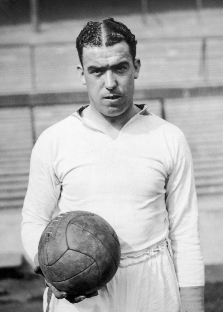 Detail of Dixie Dean by Anonymous