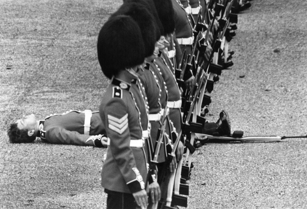 Detail of Parading Guardsmen 1979 by Staff