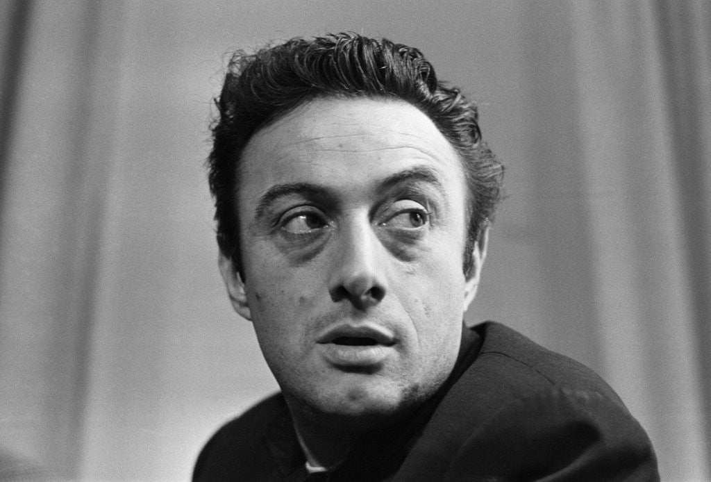 Detail of Lenny Bruce 1962 by Barham