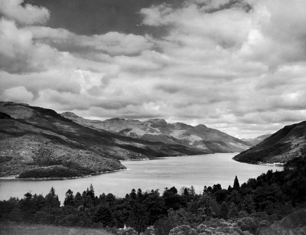 Detail of Loch Long 1946 by Mirrorpix