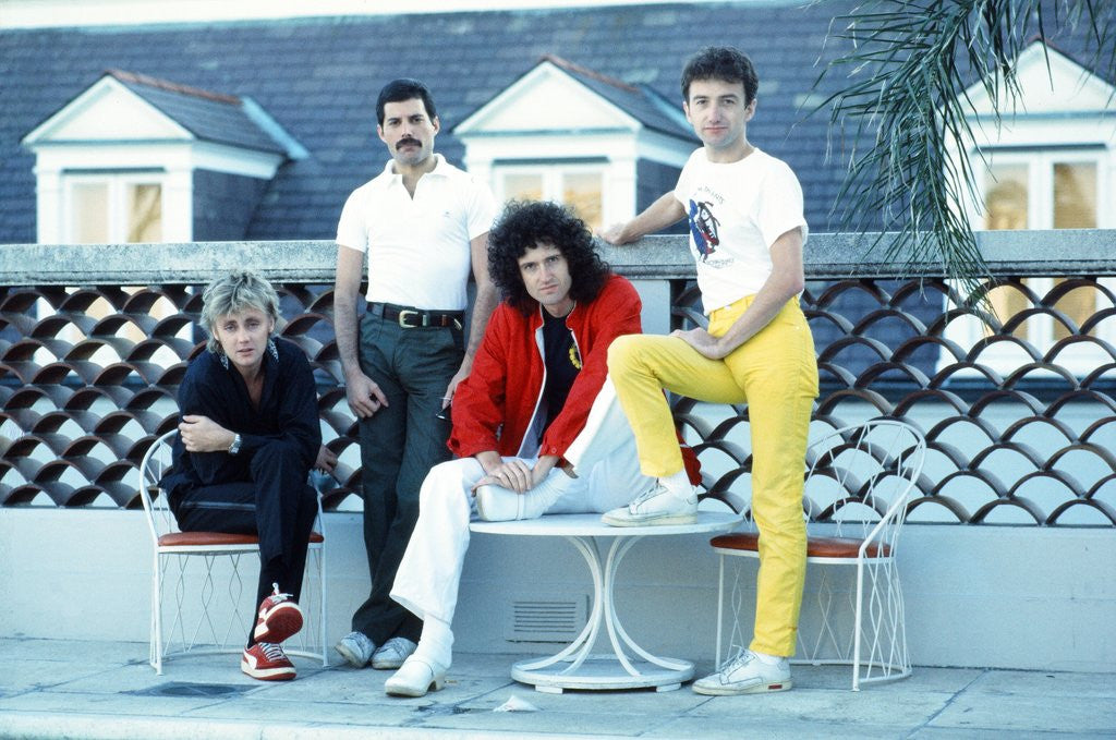 Rock band Queen 1981 by Kent Gavin