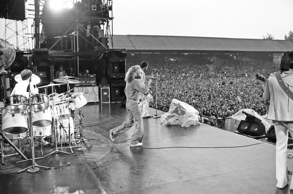 The Who in concert 1976 by Mike Maloney