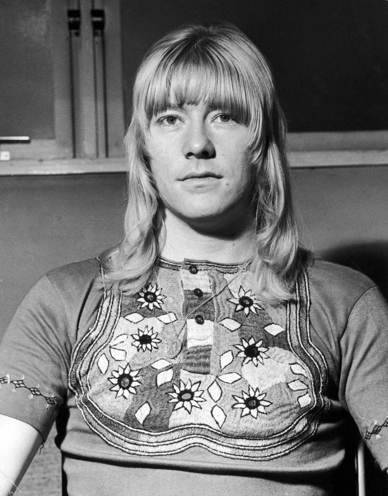 Detail of Brian Connolly 1973 by Malcolm McNeill