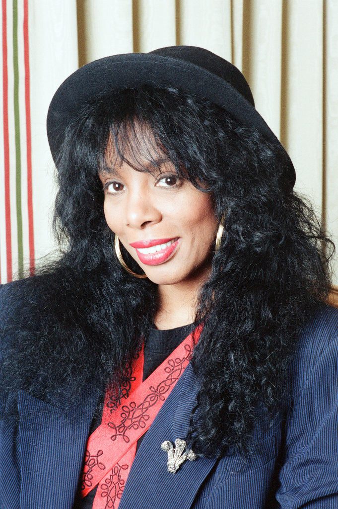 Detail of Donna Summer by Nigel Wright