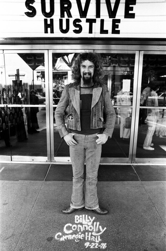 Billy Connolly in New York by Michael Brennan