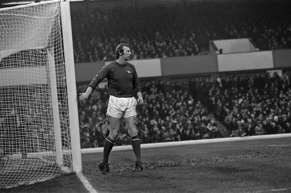Detail of Birmingham v Arsenal 1972 by Birmingham Post and Mail Archive