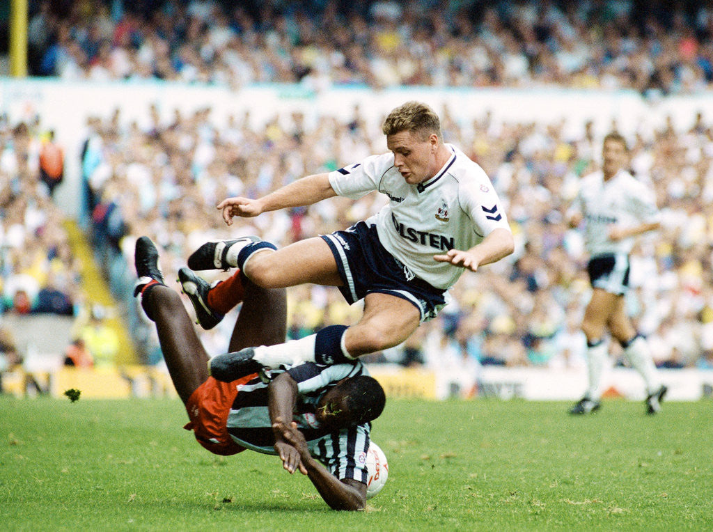 Detail of Tottenham Hotspur v Derby County 1990 by Arnold Slater