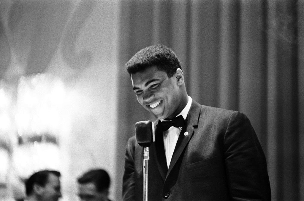Detail of Cassius Clay in London May 1966 by Staff