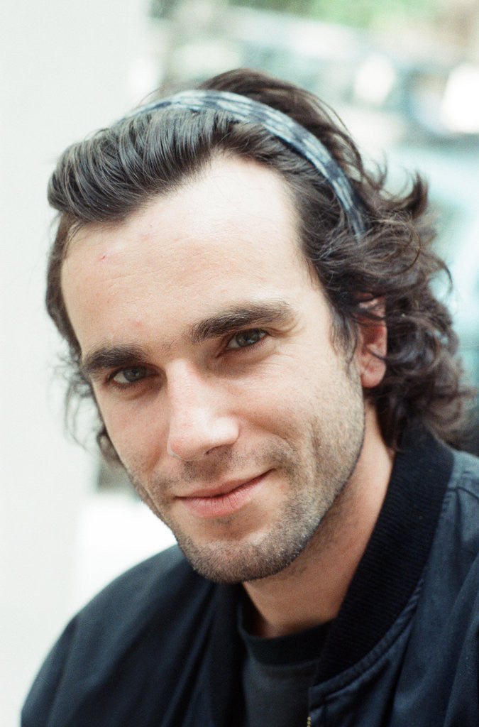 Detail of Daniel Day Lewis by John Shenton