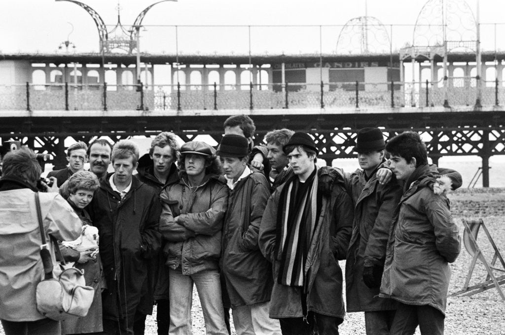 Detail of Quadrophenia filming by Geoffrey Day