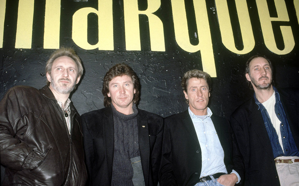 Detail of The Who at the marquee Club by Staff