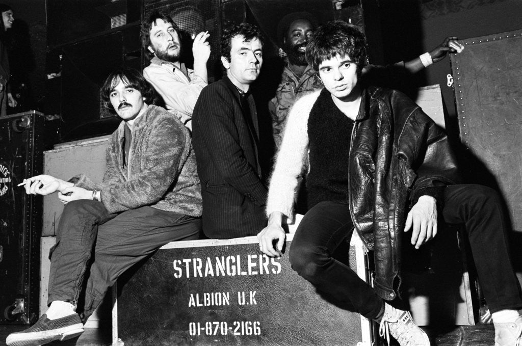Detail of The Stranglers by Peter Lea
