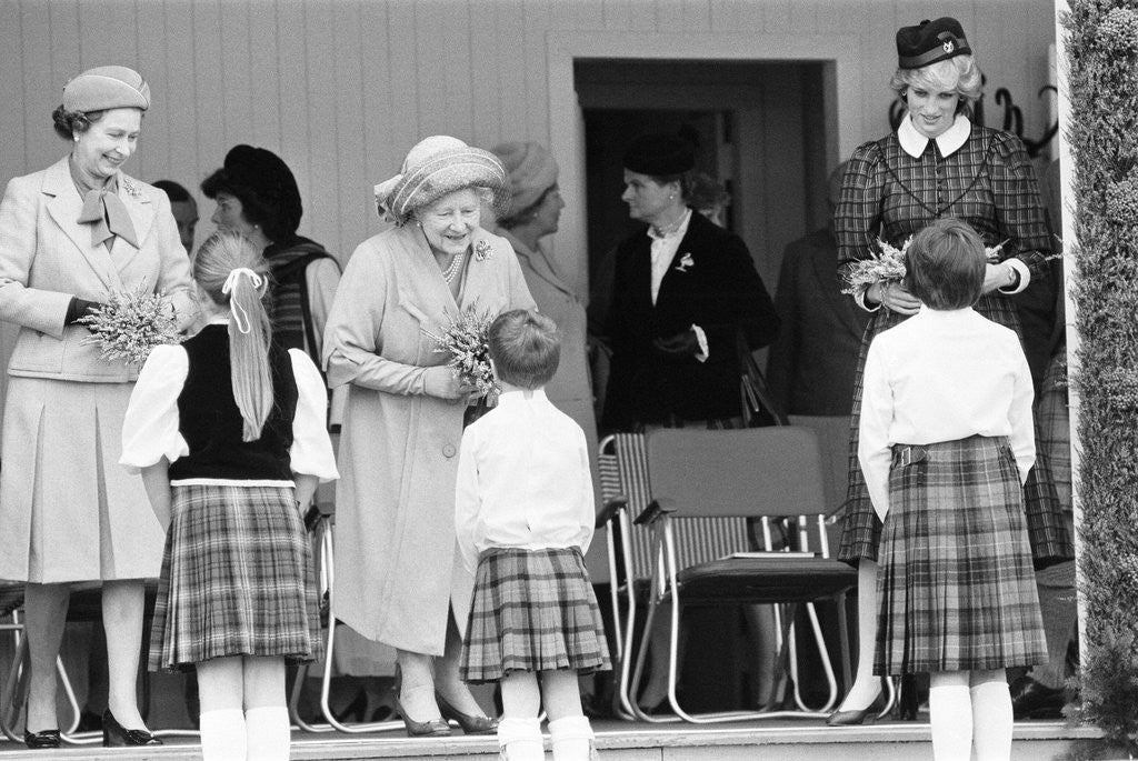 Detail of Braemar Highland Gathering 1982 by Staff