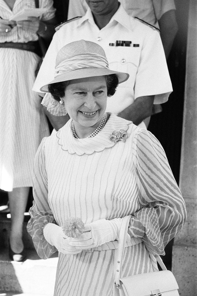 Queen Elizabeth II, by Staff