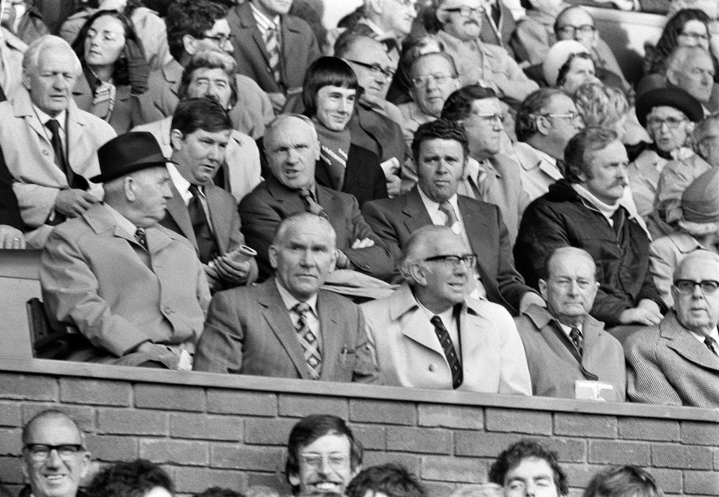Detail of Bill Shankly Liverpool manager by Staff