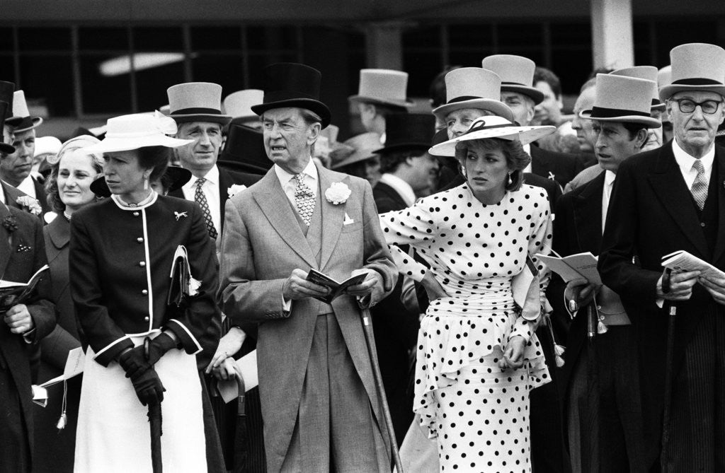 Detail of Epsom Derby 1986 by Daily Mirror