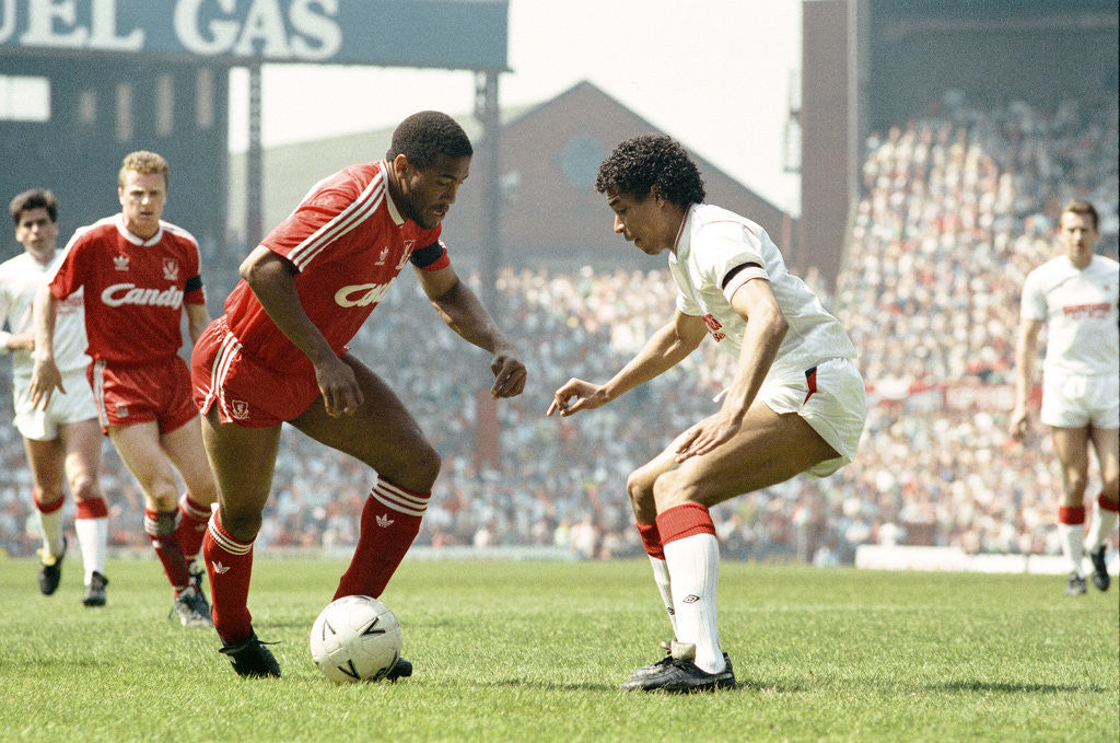 Detail of FA Cup Semi Final match between Liverpool and Nottingham Forest 1989 by Staff