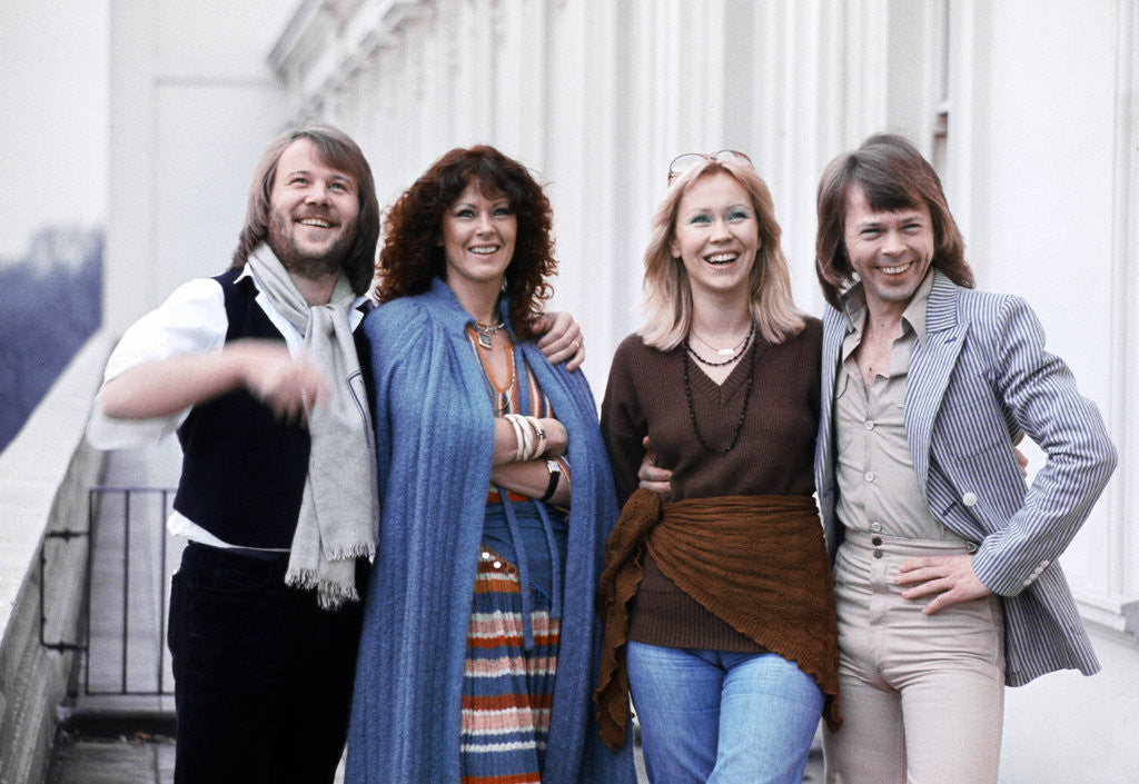 Detail of Abba pop group 1978 by Staff