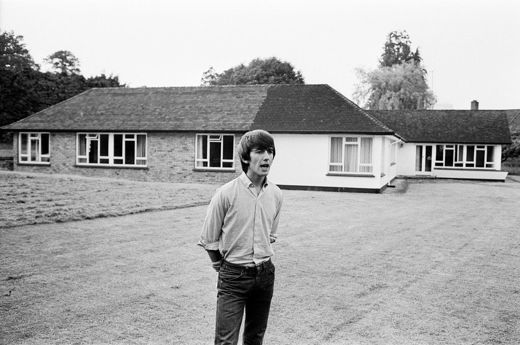 George Harrison 1964 by Alisdair McDonald