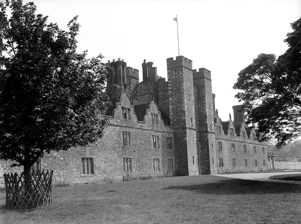 Detail of Knole House, Sevenoaks, west Kent, Circa 1920 by Daily Mirror
